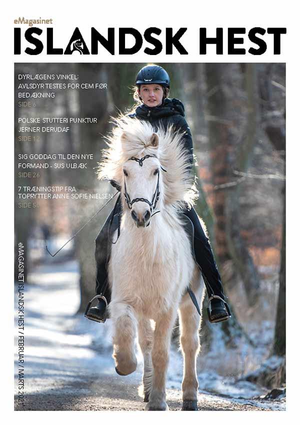 eMagasinet Islandsk Hest Februar/Marts 2021